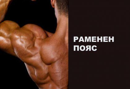 Упражнения за рамо